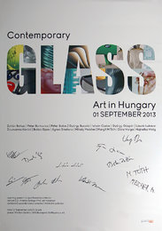 Glass Exhibition poster