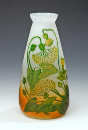 Multi-layered cameo vase by Istvan Sovanka ~1900